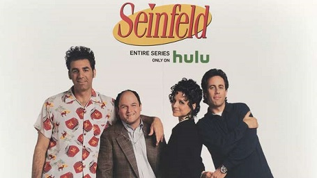 Another Seinfeld poster with Hulu introducing its streaming.
