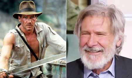 Harrison Ford and Indiana Jones