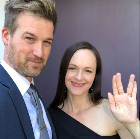Kenneth and Susan at the Stark Trek Discovery premiere