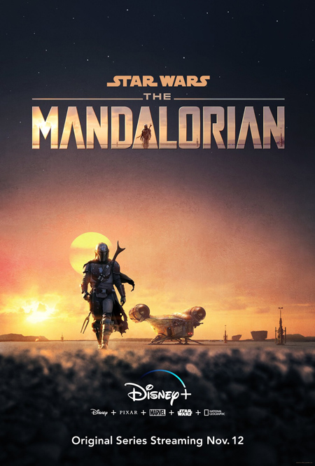 The poster of The Mandalorian