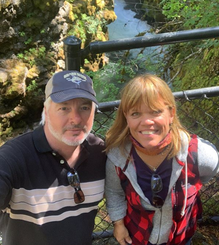 Amy Roloff and Chris Marek