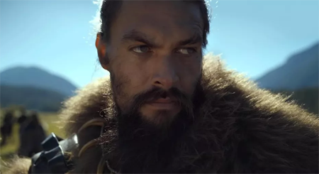Jason Mamoa in the upcoming series SEE