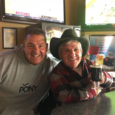 Matt Roloff and his friend Ty congratulate Amy on Instagram