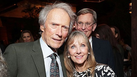 Clint Eastwood and Laurie Murray appear at the red carpet premiere of 'The Mule' last year.
