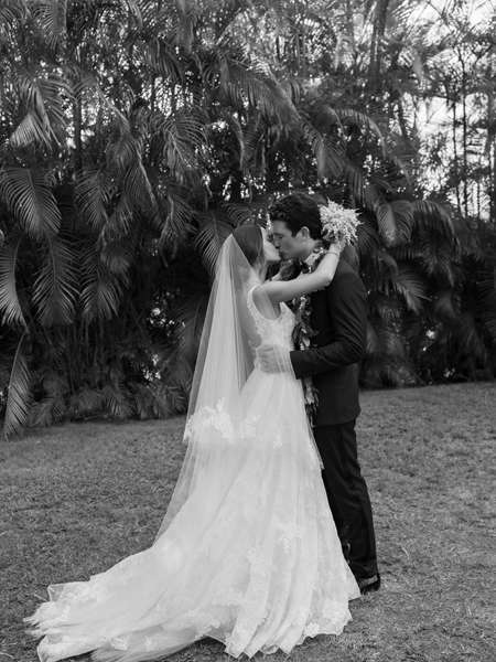 Miles Teller and Keleigh Sperry get married.