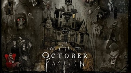 The cover of the book 'October Faction'.