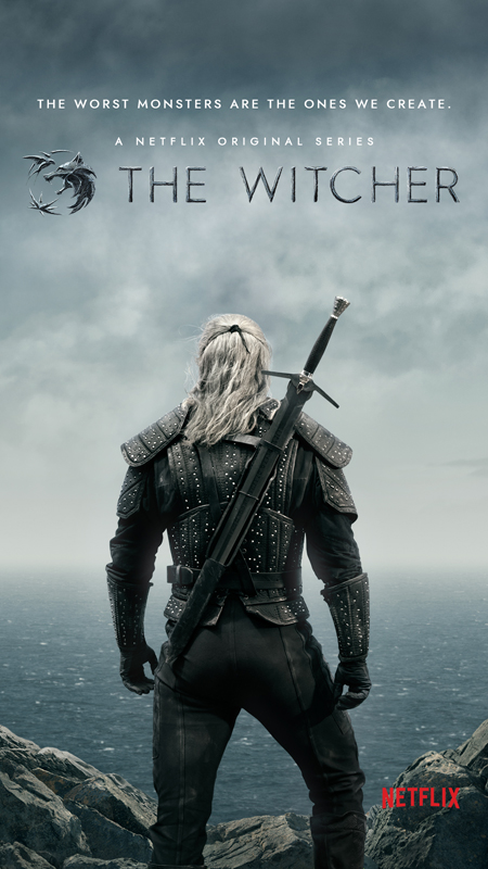 The Witcher poster.