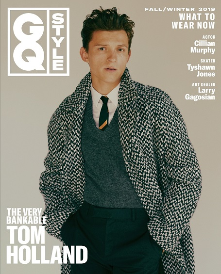 Tom Holland made it to the cover of GQ Style Magazine for Fall 2019.