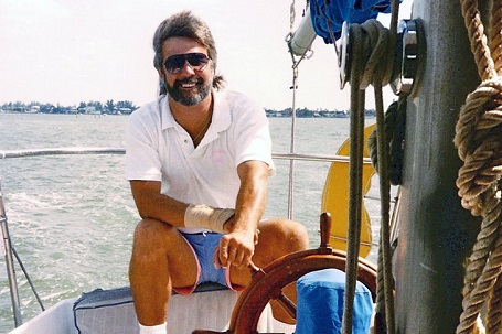 He started off in yacht business much later but loved every minute of it.