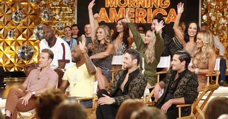 The cast of Dancing With the Stars 2019.
