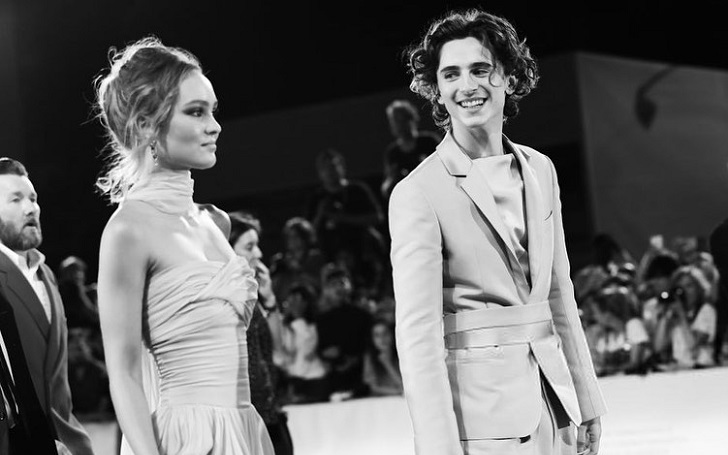 Timothee Chalamet & Lily-Rose Depp Enjoy Steamy Makeout Session In Italy