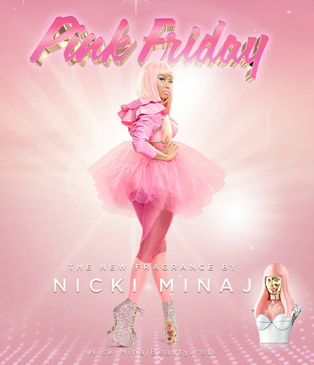 Pink Friday went platinum and got its own fragrance.
