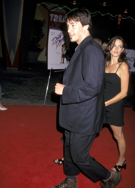 Jennifer Syme and Keanu Reeves
