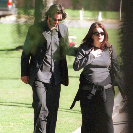 Keanu Reeves and Jennifer Syme