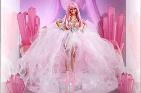 A $15,000 Nicki Minaj Barbie doll was auctioned in 2013.