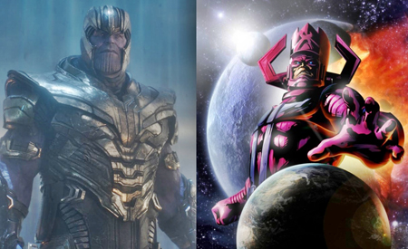 Thanos and Galactus