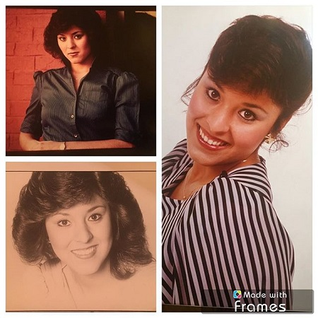 Throwback photos from Lynette Romero to the old days, before high school.