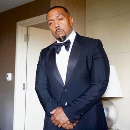A suited Timbaland