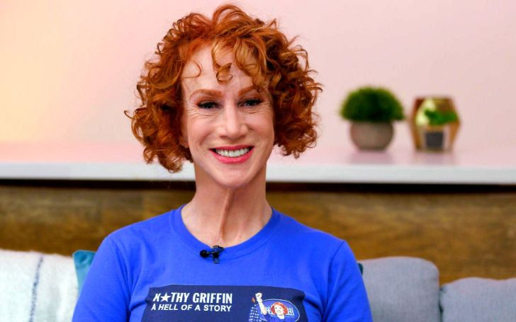 Kathy Griffin marries longtime love, on New Year