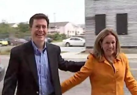Elizabeth Colbert Busch and Stephen Colbert are brother and sister.