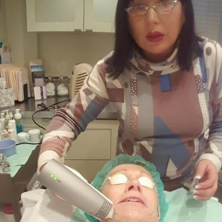 barbara getting an eye lift