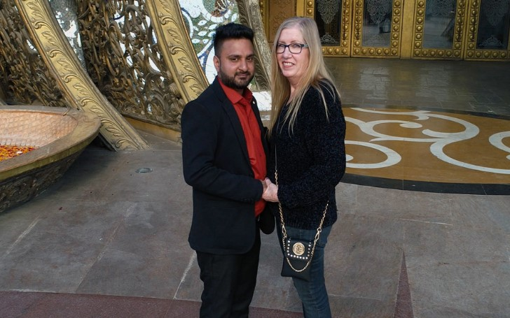 Sumit and Jenny Slatten of '90 Day Fiance'' were Spotted Together in India
