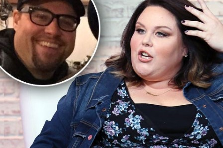 Martyn Eaden and Chrissy Metz.