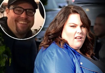 Chrissy Metz and Martyn Eaden.