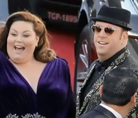 Chrissy Metz and Martyn Eaden at some events.