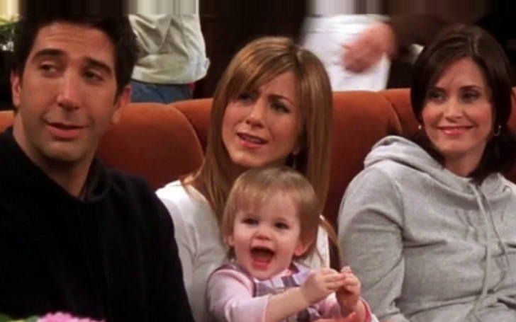 The Baby 'Emma' Actress from 'F.R.I.E.N.D.S.' made the Greatest Reference to Chandler's Remarks on New Year's Day