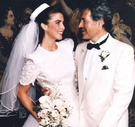 The couple tied the knot on April 30, 1990.