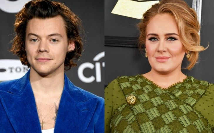 Grammy winner Adele sparks dating rumor with Harry Styles