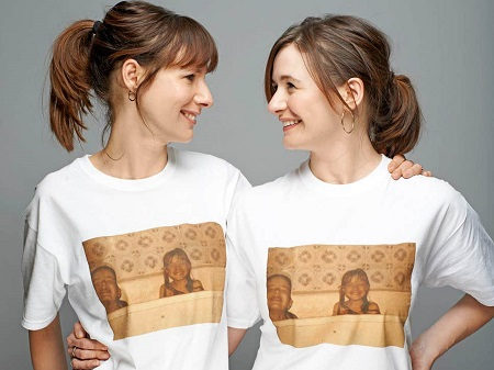 Dolly Wells and Emily Mortimer played versions of themselves in their sitcom 'Doll & Em'