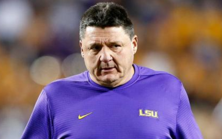 Who is Coach Ed Orgeron's Dating? Does He Have a Girlfriend or Wife?
