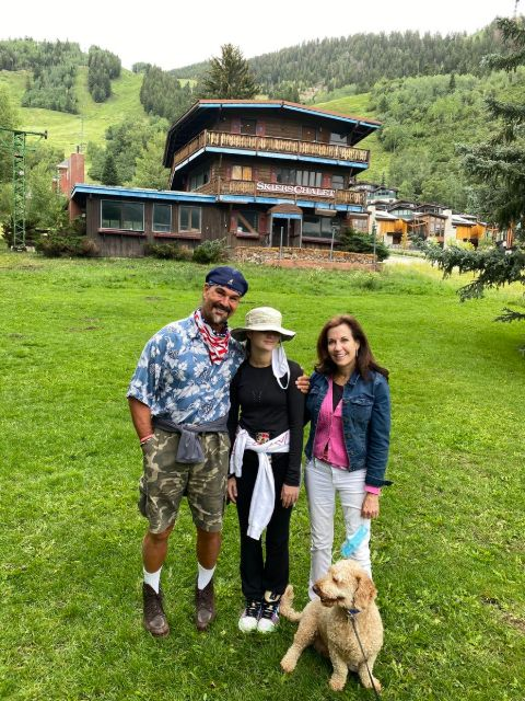 Jon Najarian enjoying family vacation with his wife and daughter.