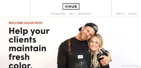 Justin Anderson co-founded dpHUE alongside Donna Pohlad.