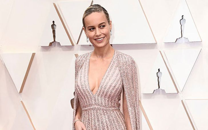 Brie Larson looks every bit of a superhero at the Oscars 2020