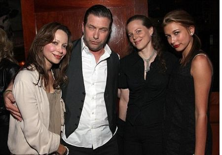 Stephen Baldwin with family.
