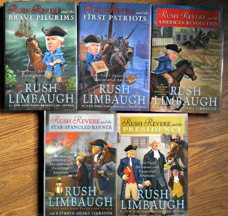 Kathryn Adams Limbaugh co-authored multiple children's books with her husband Rush Limbaugh.