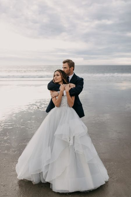 wedding picture of kellan and brittany