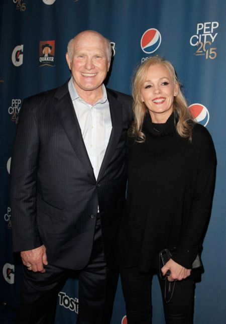 Terry Bradshaw and his current wife Tammy Bradshaw.