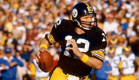 Former Pittsburg Steelers quarterback Terry Bradshaw.