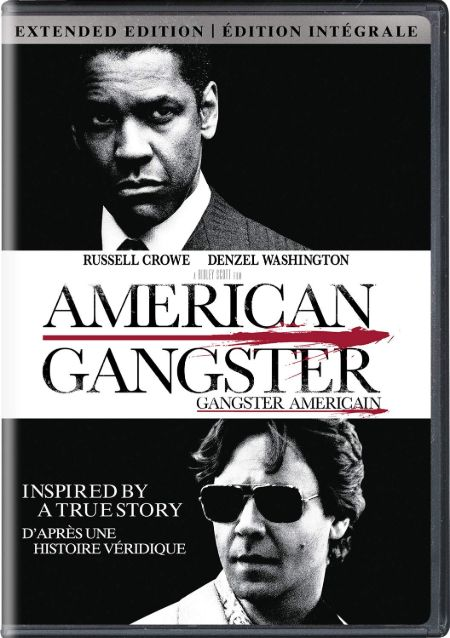 The movie poster of movie 'American Gangster'.