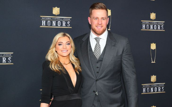 NFL star JJ Watt marries Kealia Ohai in Bahamas