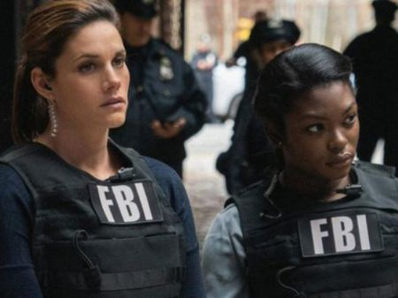 Ebonee in the hit show FBI