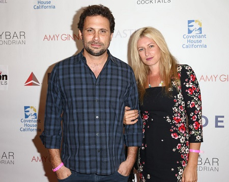 Actor Jeremy Sisto (L) and wife, Addie Lane, attend the Covenant House California (CHC) All Star Mixology competition at SkyBar at the Mondrian Los Angeles on October 1, 2014 in West Hollywood, California.