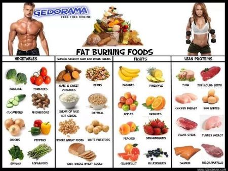 Change food preferences which helps you burn fat.