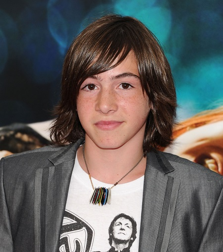 "Actor Jonah Bobo attends the ""Crazy, Stupid, Love."" World Premiere at the Ziegfeld Theater on July 19, 2011 in New York City."