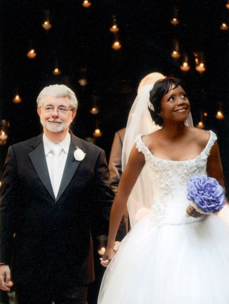 George Lucas and Mellody Hobson got married on June 22, 2013.