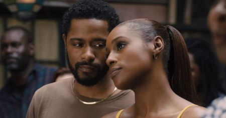 Lakeith and Issa Rae in the movie The photograph